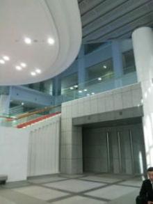 私!意外にも初めて新しい県庁舎へ…(・_・)エッ..!!