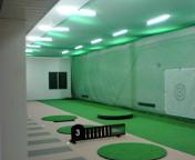 インナーゴルフ練習場、明日、引き渡しです。