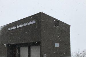 雪の日の御引渡し
