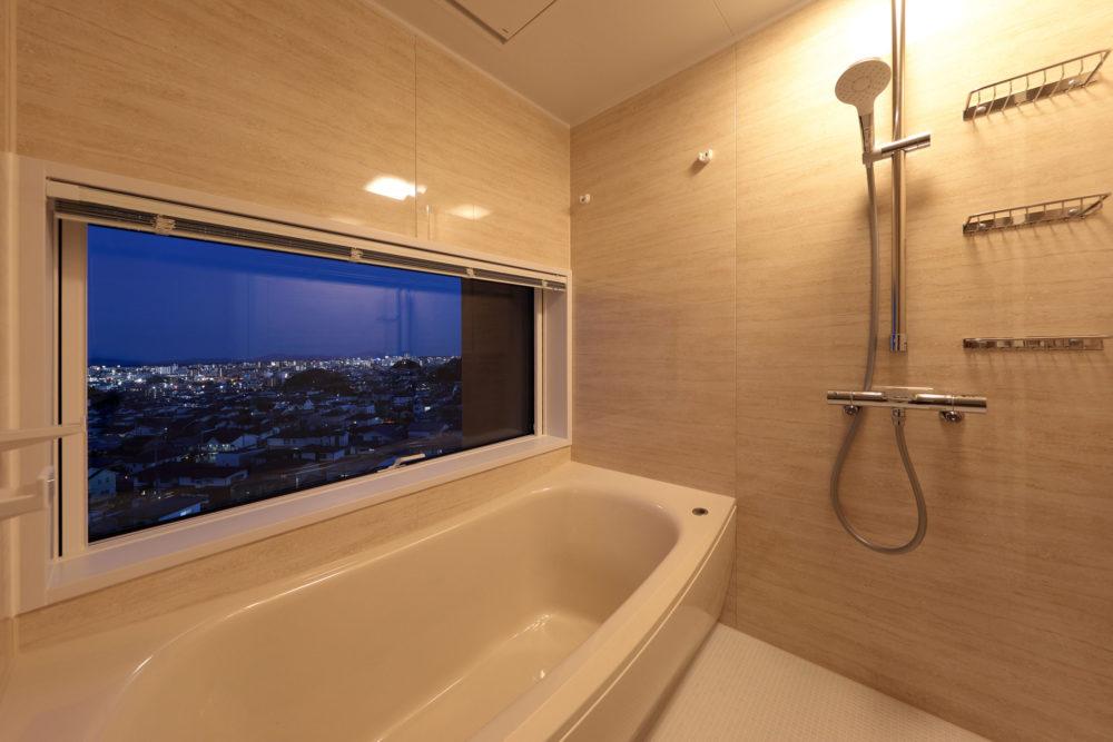 ここでしか味わえないラグジュアリーな浴室空間