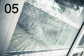 5.ガラス(窓)のトラブル