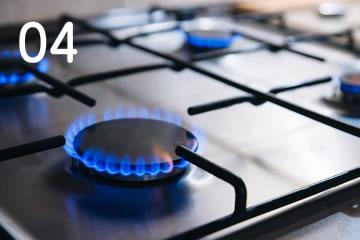 4.ガス設備のトラブル