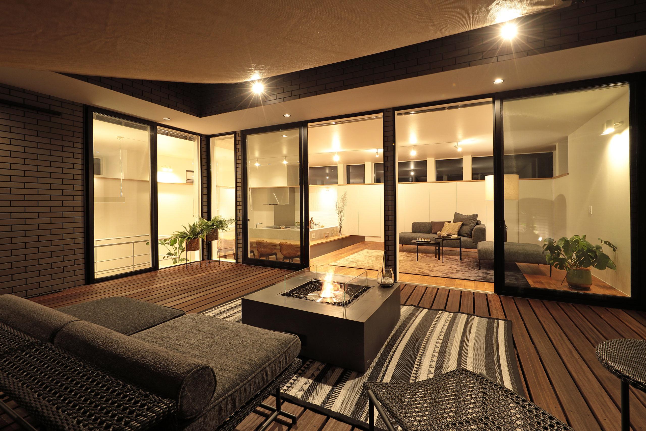 「中庭って、楽しい。」をコンセプトに、開放的で贅沢な暮らしを実現